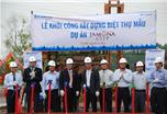 Sacomreal khởi công biệt thự mẫu dự án Jamona City