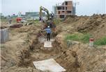 Hình ảnh tiến độ dự án Jamona City 02/2012