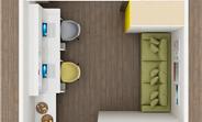 căn hộ văn phòng mặt tiền cao thắng, tiện cho thuê, đầu tư sinh lợi