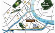 Căn hộ CC quận 4, 3 mặt sông, LK phố đi bộ Nguyễn Huệ Q1, giá chỉ 55tr/m2.